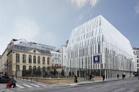 siège de la banque postale atelier d architecture chaix