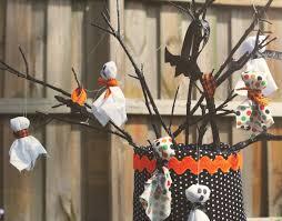 orange halloween tree complete list of halloween decorations ideas in your home