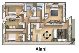 Apartments Floor Plan Waena Apartments Rentals Honolulu Hi Apartments Com