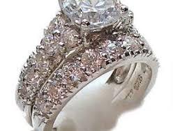 vintage wedding ring sets vintage style sterling silver wedding ring set sterling silver