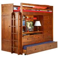 Bunk Bed With Desk And Trundle Bunk Bed All In 1 Loft With Trundle Desk Chest Closet