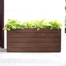 Diy Patio Planter Box Planters Rectangular Planter Box Diy Rectangle Grey Lowes Liners