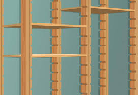 Building Wood Shelves 2x4 by How To Build Utility Shelves At The Home Depot