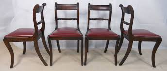 Antique Mahogany Dining Room Furniture Stunning Mahogany Dining Chairs With Edwardian Inlaid Solid