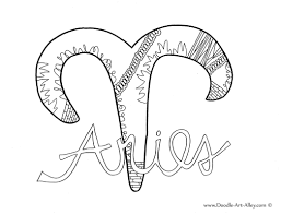 coloring page s zodiac coloring pages doodle art alley