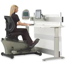 Height Adjustable Office Desks by Elliptical Machine Adjustable Height Desk The Green Head