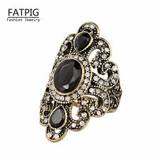 antique jewelry rings images Women jewelry bohemian style antique gold rings for women vintage jpg