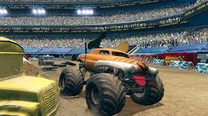 monster truck jam games monster jam path of destruction wallpapers video game hq