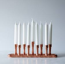 modern menorah 8 modern menorahs for the design inclined the accent