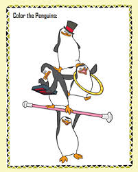 color penguins u2013 free madagascar coloring u2013 jumpstart