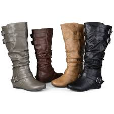 s wedge boots wedge boots black brown the knee ankle ebay