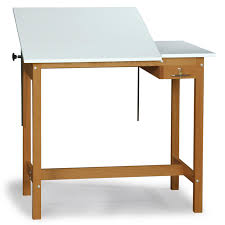 Kids Drafting Desk by Smi Professional Wood Drafting Table With Plan And Tool Drawer
