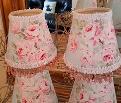 Shabby Chic Tablecloth by 3 Gorgeous Shabby Chic Small Lamp Chandelier Shades Rachel Ashwell