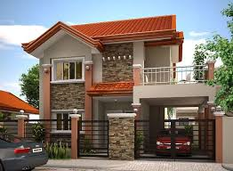cute and latest house design pleasing