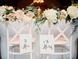 wedding chair decorations wedding decoration ideas gold wooden and groom wedding