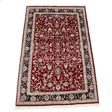 Indian Area Rug Knotted Indian Wool Area Rug Ebth