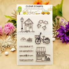 Sho Clear scrapbook diy photo cards account rubber st clear st
