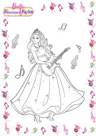 coloriage barbie star