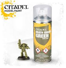 Model Spray Paints - gw citadel spray paints dicehead games and comics