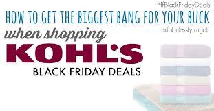 kohls black friday sale kohl u0027s black friday under 6 deals