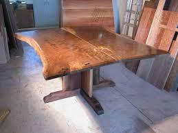 Custom Boardroom Tables Rustic Slab Walnut Conference Table By Dumond U0027s Furniture