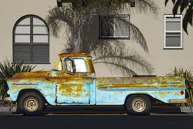 rusty pickup truck truck pick up rusty 1959 chevy free photo on pixabay
