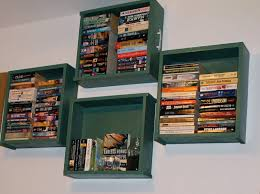 cool bookshelf ideas diy bookshelves from recycled materials