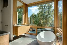architecture natural bathroom ideas with modern boat like