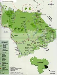 Rio On World Map Karte Von La Gran Sabana