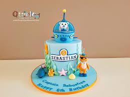 octonauts birthday cake octonauts cake the cake society