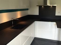 plan travail cuisine quartz chambre plan de travail quartz noir realisations plans travail