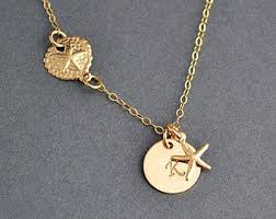 14k Gold Initial Disc Necklace 3203 Best Disc Necklaces Images On Pinterest Personalized