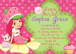 printable birthday invitations strawberry shortcake birthday strawberry shortcake birthday invitations afoodaffair