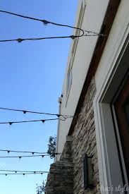 post to hang string lights post to hang string lights outdoor how make inexpensive poles on