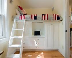 Bunk Beds  King Single Bunk Bed With Desk Underneath Full Size - Single bunk beds