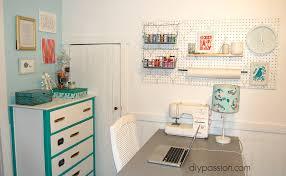 Peg Board Shelves by Diy Stenciled Peg Board