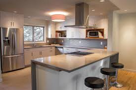 contemporary custom kitchen athena industries calgary