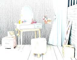 Pink Vanity Table Pink Vanity Stool Zebra Vanity Table And Stool Set In White