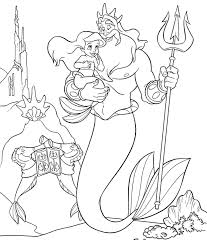 mermaid coloring pages disney coloring pages kids collection
