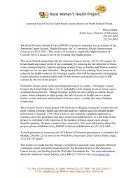 rwhp press releases