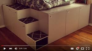 How To Build Platform Bed Frame With Drawers by Ikea Sektion Hack Platform Bed Diy Ikea Hackers Ikea Hackers