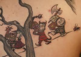 15 beautiful christmas tattoo designs 2012 sheplanet