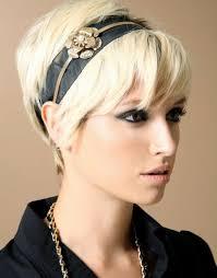 Kurze Haarfrisuren F Frauen by Haarreifen Für Kurze Haare Kurzhaarfrisuren