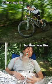 Mtb Memes - ouch and other thoughts during yesterday s mountain bike ride