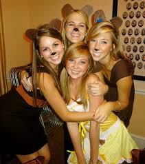 Halloween Bear Costume 60 Awesome Girlfriend Group Costume Ideas Bear Costume
