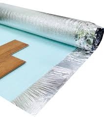 Soundproof Underlay For Laminate Flooring Royale 3mm Acoustic Silver Underlay British Flooring