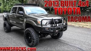2005 Toyota Tacoma Roof Rack by Customized 2013 Toyota Tacoma 4x4 Northwest Motorsport Youtube