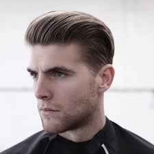 slick back undercut cool slicked back hairstyles for men with thin