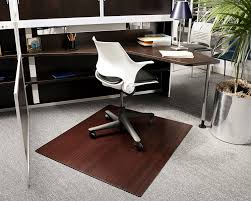 Chair Mats For Laminate Floors Bamboo Deluxe Roll Up Chairmat 42