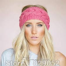 knitted headbands aliexpress buy wool knitted turban headbands for women